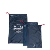 Herschel Supply Co. Travel Accessories Laundry/Shoe Set navy red