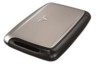 Tru Virtu Pearl Mini Card Case Silver Arrow