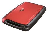 Tru Virtu Pearl Mini Card Case Red Pepper