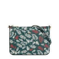 Parfois crossbody tas all over print groen