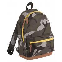 Sols Junior camouflage schooltas rugtas/rugzak 42 cm Multi