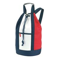 Duffel bag/plunjezak rood/wit/blauw 50 cm Multi
