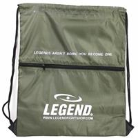 Legend Sports sporttas met vakje 40 x 50 cm army green
