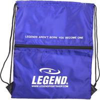 Legend Sports sporttas met vakje 40 x 50 cm blauw