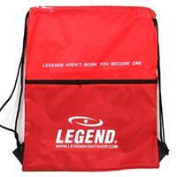 Legend Sports sporttas met vakje 40 x 50 cm rood
