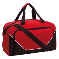 Sporttas/reistas rood/zwart 29 liter Multi