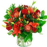 debloemist Valentijn boeket rood