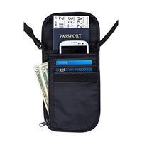 Ben Tools Reisportemonnee/nektasje zwart 14 x 17 cm Zwart