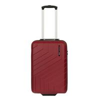 Travelbags Barcelona 2 Wheel Trolley 55 chili red Harde Koffer