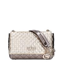 Guess Brielle Quilted Crossbody gold multi