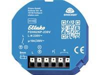 eltako Draadloze actor FDH62NP-230V+FTKB-rw 1-kanaals Inbouw Schakelvermogen (max.) 2500 W Bereik max. (in het vrije veld) 30 m