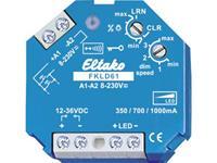 eltako Draadloze dimmer FKLD61 1-kanaals Inbouw Schakelvermogen (max.) 30 W Bereik max. (in het vrije veld) 30 m