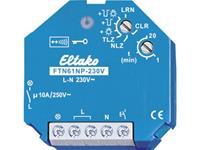 eltako Draadloze schakelaar FTN61NP-230V Inbouw Schakelvermogen (max.) 2500 W Bereik max. (in het vrije veld) 30 m