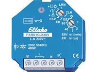 eltako Draadloze schakelaar FSR61G-230V 1-kanaals Inbouw Schakelvermogen (max.) 400 W Bereik max. (in het vrije veld) 30 m