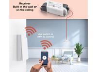 Caliber Audio Technology Caliber Smart Home Starterkit verlichting Bereik max. (in het vrije veld) 15 m Alexa, Google Home, Tuya