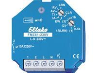 eltako Draadloze actor FMZ61-230V 1-kanaals Inbouw Schakelvermogen (max.) 2000 W Bereik max. (in het vrije veld) 30 m