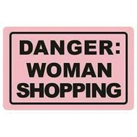Chic.Mic anti skimpas 'danger: woman shopping'