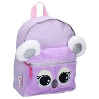 Lulupop & the Cutiepies rugzak Fluffy and Sweet Koala 33 x 26 x 10,5 cm paars