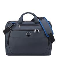 Delsey Parvis Plus Laptop Bag 2-CPT 15.6 Grey