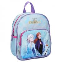Disney rugzak Frozen II Find the Way 28 x 22 cm blauw