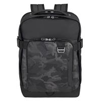 Samsonite Midtown Laptop Backpack L 15.6 Expandable Camo Grey