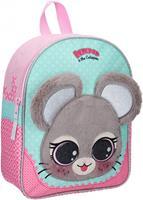 Lulupop & the Cutiepies rugzak muis meisjes 9,3 liter polyester roze