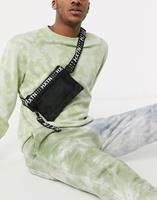 hxtn Supply - Crossbodytas met logo in zwart