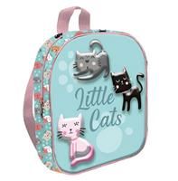 TOM schooltas little cats 24 cm polyester