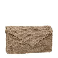 Manfield clutch beige