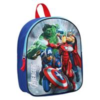 rugzak Avengers 3D junior 9 liter polyester blauw/rood