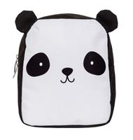 Little Lovely rugzak Panda junior 5,5 liter polyester zwart/wit