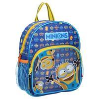 Minions rugzak junior 5,5 liter polyester blauw/geel
