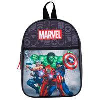 Marvel rugzak Avengers junior 6 liter polyester zwart/rood