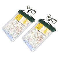 Pakket van 3x stuks waterproof PVC zakken/tasjes met koord x 26,5 cm - Reistas (volwassen)
