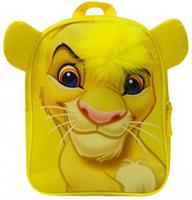 Disney rugzak Lion King Simba junior 10 liter polyester geel