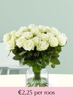 Surprose Witte rozen - Kies je aantal | Rozen online bestellen & versturen | .nl