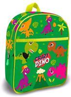 Kids Licensing schooltas Crazy Dino 30 cm polyester groen