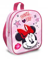 Disney Minnie Mouse rugzak junior 6,5 liter polyester roze/rood