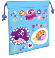 Kids Licensing schooltas Love Pirates polyester 22 cm