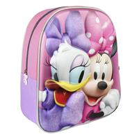 Disney Minnie Mouse/Katrien Duck school rugtas/rugzak voor peuters