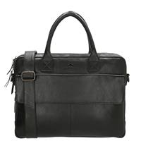 Micmacbags Porto laptoptas 15 inch black