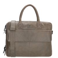 Micmacbags Porto laptoptas 15 inch grey
