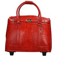 Olivia Lauren Louna laptop trolley red