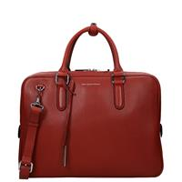 Smaak Amsterdam Adam laptoptas 15 inch red