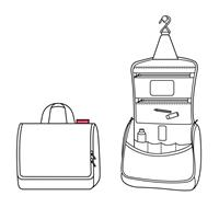 Reisenthel Travelling Toiletbag twist silver Toilettas