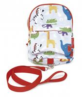 Fisher-Price Fisher Price schooltas dieren junior 26 x 20 cm polyester wit