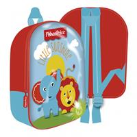 Fisher-Price Fisher Price rugzak junior 31 x 26 cm polyester blauw/rood