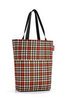Reisenthel Cityshopper 2 Shopper - Boodschappentas - Polyester -  - Glencheck Red Rood; Zwart; Zand