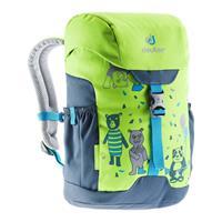 Deuter - Kid's Schmusebär - Kinderrugzak, groen/blauw/grijs