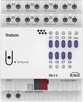 theben KNX RM 8 S KNX Schakelactor
